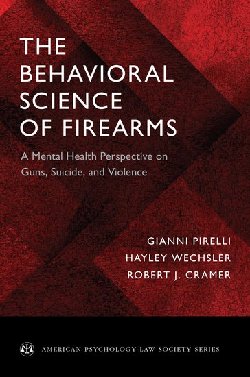 The Behavioral Science of Firearm Laws (2018) - book cover