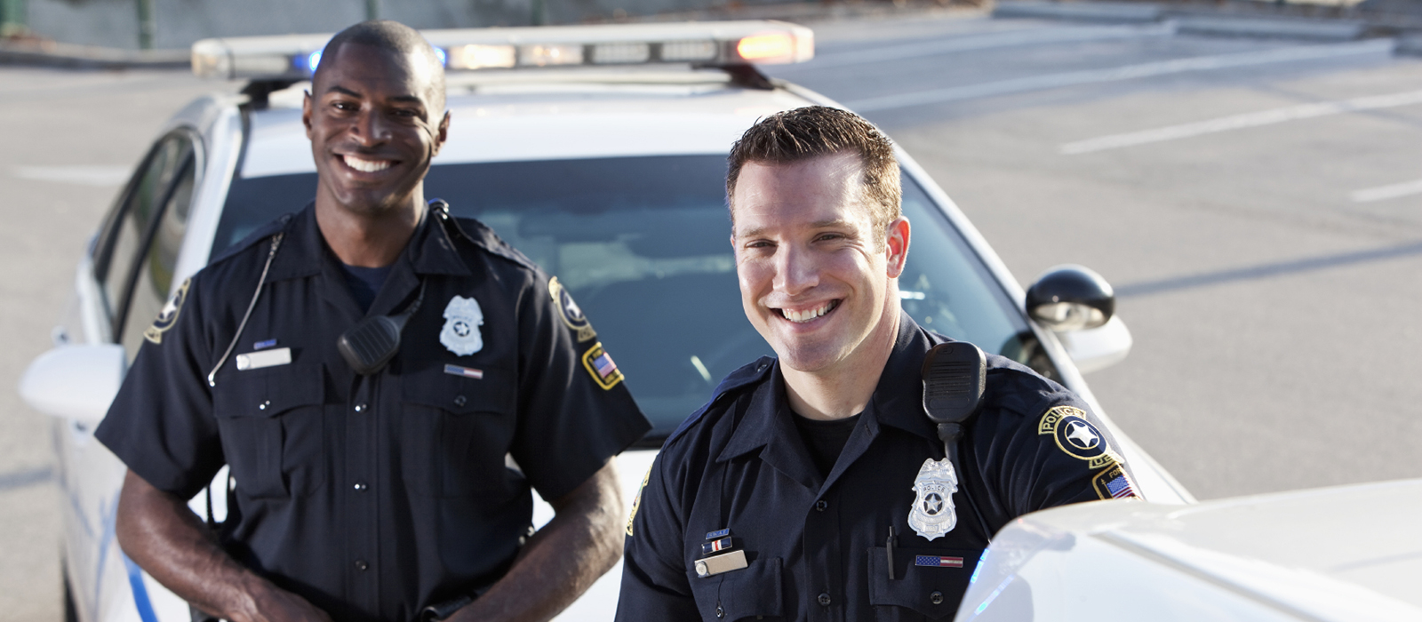 Two California police officers.